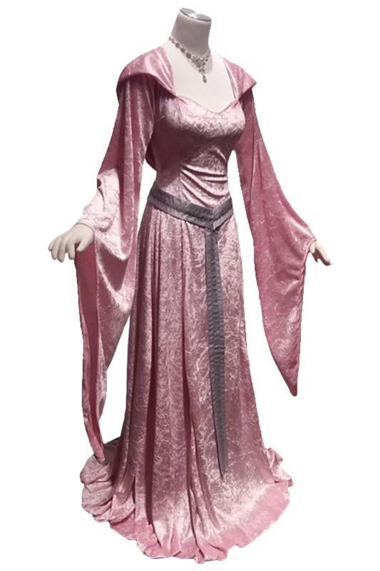 BFJFY Women's Vintage Renaissance Medieval Dress Court Halloween Costumes - bfjcosplayer