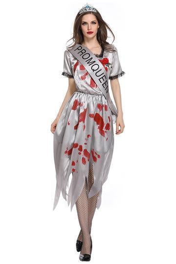 BFJFY Halloween Women Ghost Bride Uniform Hell Goddess Performance Suit - bfjcosplayer