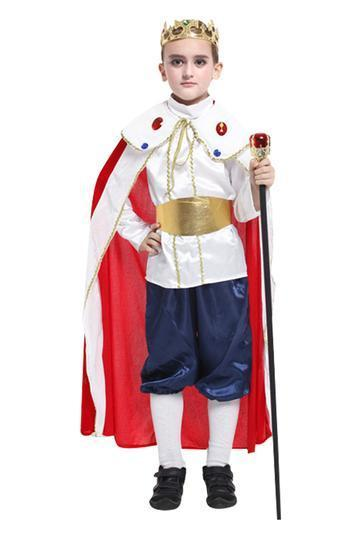 BFJFY Halloween Boys Prince Cosplay Costume For Kids - bfjcosplayer
