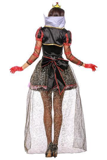 BFJFY Halloween Women Princess Queen Dress Outfit Role Play Cosplay Costume - bfjcosplayer