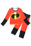 BFJFY The Incredibles 2 Pajamas Outfit Costume For Kids Boys Halloween Party - bfjcosplayer
