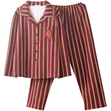 Harry Potter Long Short Sleeve Sleepwear Pajamas Suit Cosplay Unisex Costume