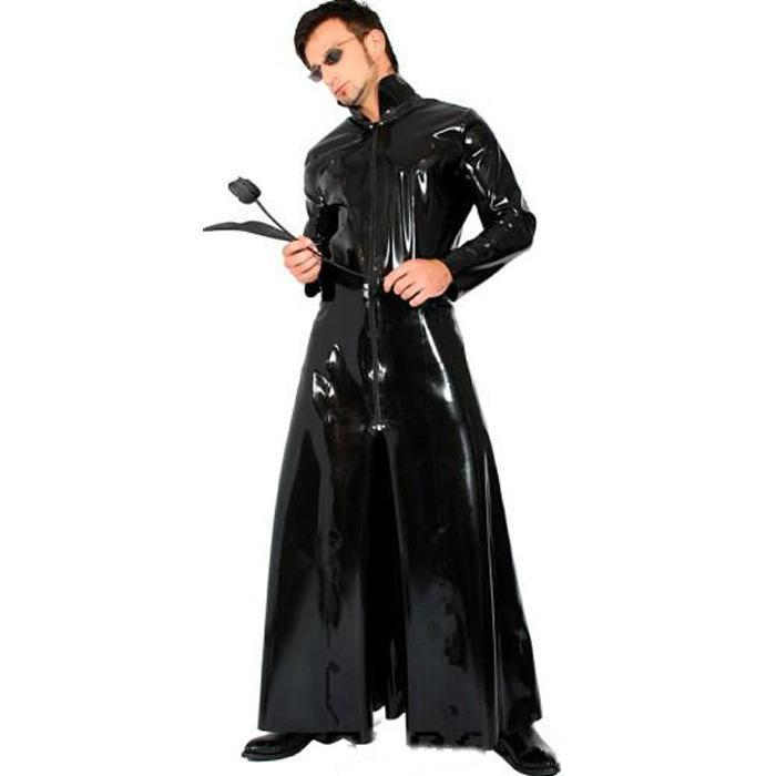 BFJFY Halloween The Matrix Spy Cosplay Costume Long Coat For Men And Women - bfjcosplayer