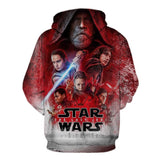 BFJmz Star Wars: The Last Jedi 3D Printing Coat Leisure Sports Sweater  Autumn And Winter - bfjcosplayer