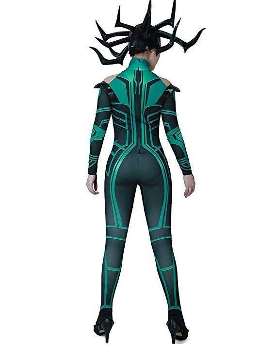 BFJFY Marvel The Thor Character Hela Women Cosplay Costume For Halloween - bfjcosplayer