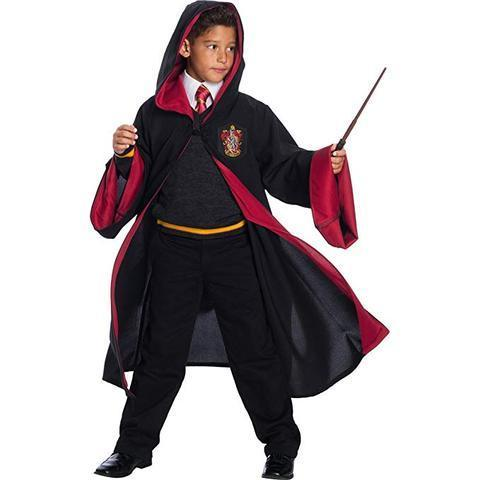 BFJFY Halloween Child Harry Potter Gryffindor Robe Uniform Cosplay Costume - bfjcosplayer