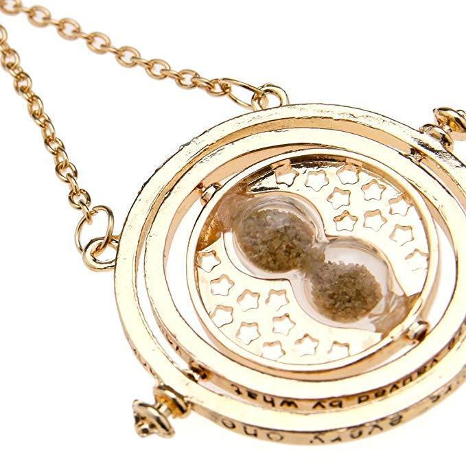 BFJFY Harry Potter Hermione Hourglass Necklace Cosplay Accessories Jewelry - bfjcosplayer