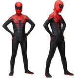 Spiderman Superieure Spider Man Cosplay Kostuum Zentai Superheld Patroon Bodysuit Pak Jumpsuits - bfjcosplayer