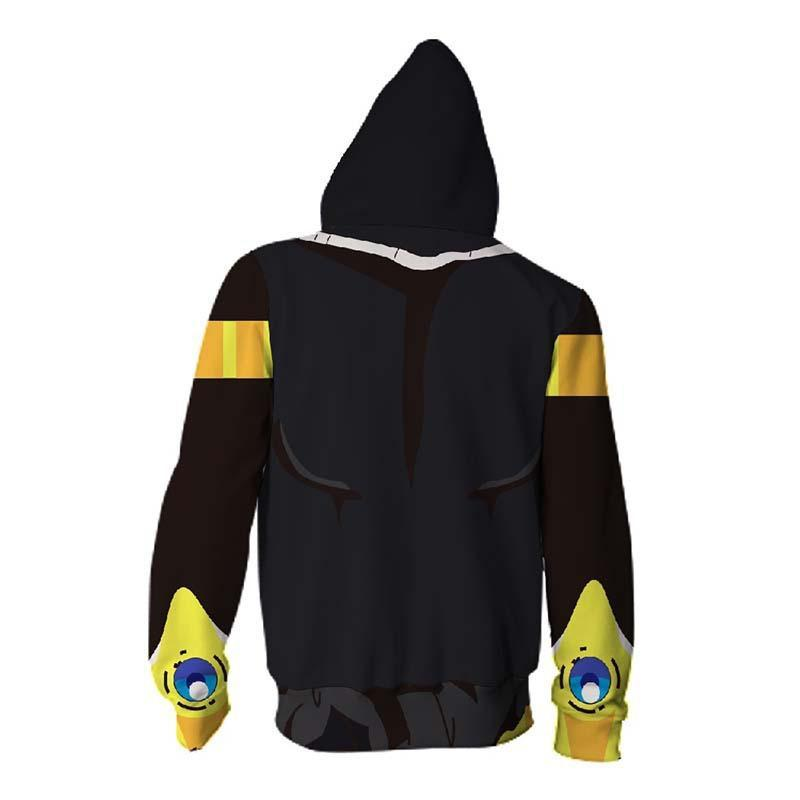 BFJmz Dragon Ball 3D Printing Coat  Zipper Coat Leisure Sports Sweater Autumn And Winter - bfjcosplayer