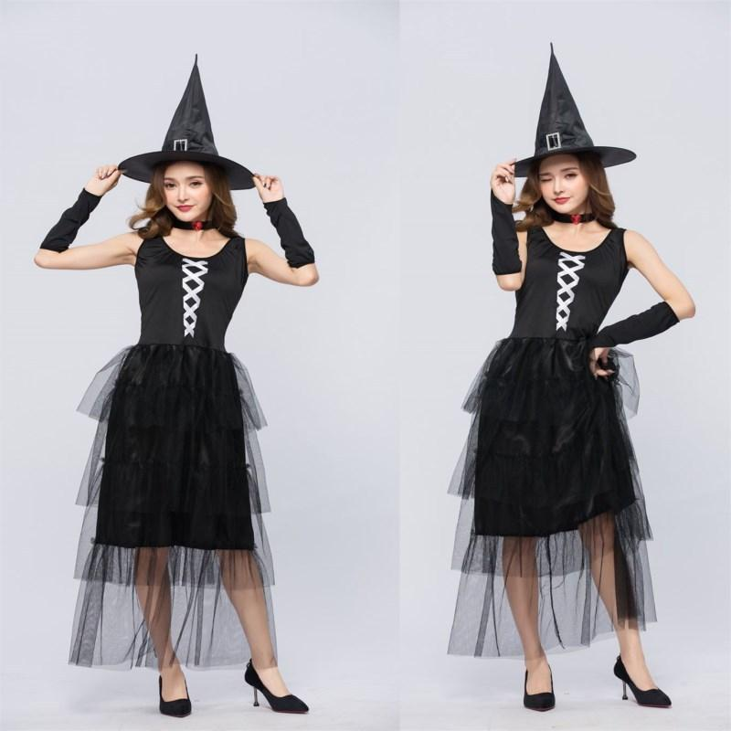 European and American adult ladies sexy cloak witch costume witch costume - bfjcosplayer