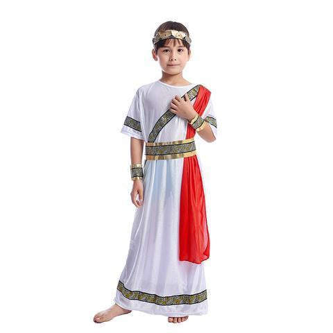 BFJFY  Ancient Roman Caesar Boy Fancy Halloween Costume - bfjcosplayer