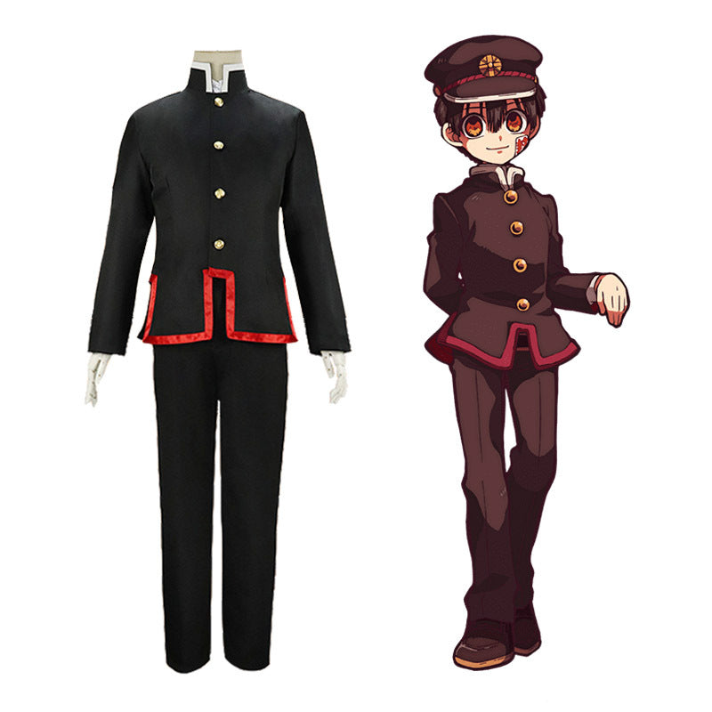 Anime Toilet-Bound Hanako-kun cosplay costume Halloween props