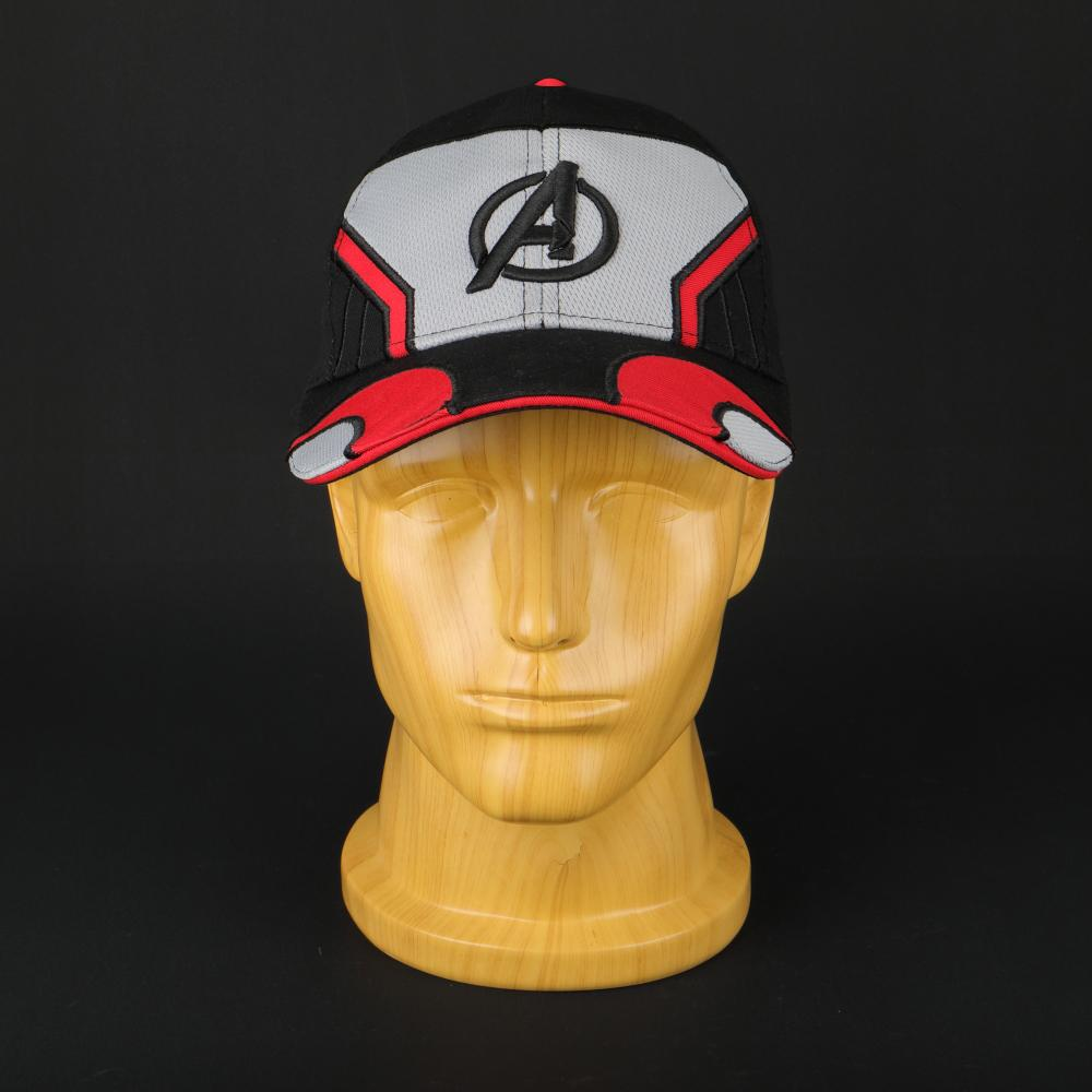 2019 Movie Avengers 4 Endgame Cosplay Hats Quantum Realm Embroidery Adjustable Strapback Advanced Tech Baseball Caps Props Gift - bfjcosplayer