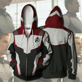 2019 New Avengers Endgame Quantum Realm Sweatshirt Jacket Advanced Tech Hoodie Cosplay Costumes - bfjcosplayer