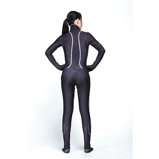 Halloween Marvel Avengers Black Widow Cosplay Siamy Tights Cosplay Costume - bfjcosplayer