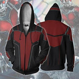 BFJmz Marvel Avengers Ant-Man 3D Printing Coat Zipper Coat Leisure Sports Sweater  Autumn And Winter - bfjcosplayer
