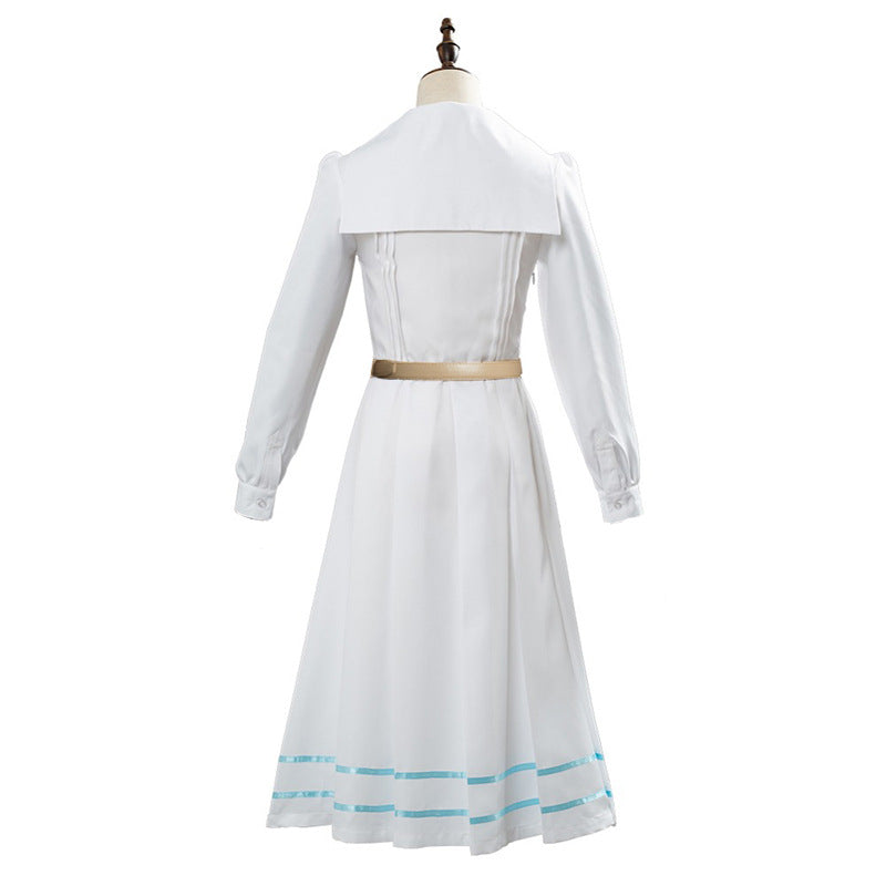 Anime BEASRARS Legosi The Rabbit White Dress cosplay costume