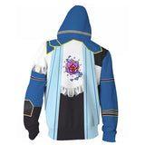 Bloodstained: Ritual of the Night Sweater Hooded game Halloween cosplay costume - bfjcosplayer