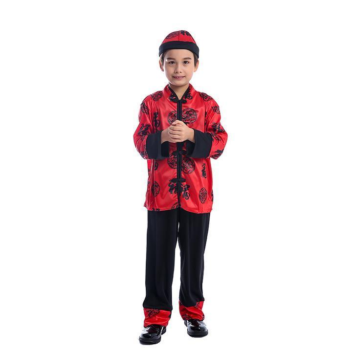 BFJFY Boys Chinese Nobel Costume Traditional Fancy Costume - bfjcosplayer