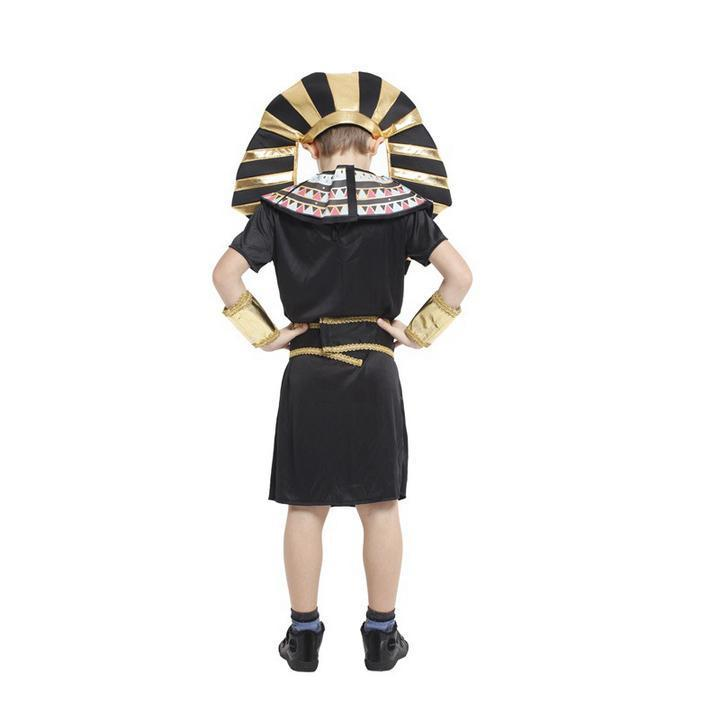 BFJFY Boys Egyptian King Tut Halloween Cosplay Costumes - bfjcosplayer