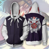 BFJmz Princess Mononoke 3D Printing Coat Zipper Coat Leisure Sports Sweater  Autumn And Winter - bfjcosplayer