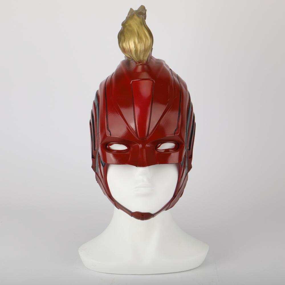 PVC Helmet Captain Marvel Carol Danvers Superohero Mask Women Cosplay Helmet Costume Halloween Party Prop - bfjcosplayer