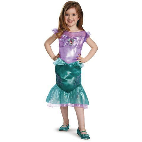 BFJFY Halloween Classic Princess Ariel Girls Dress Costume - bfjcosplayer