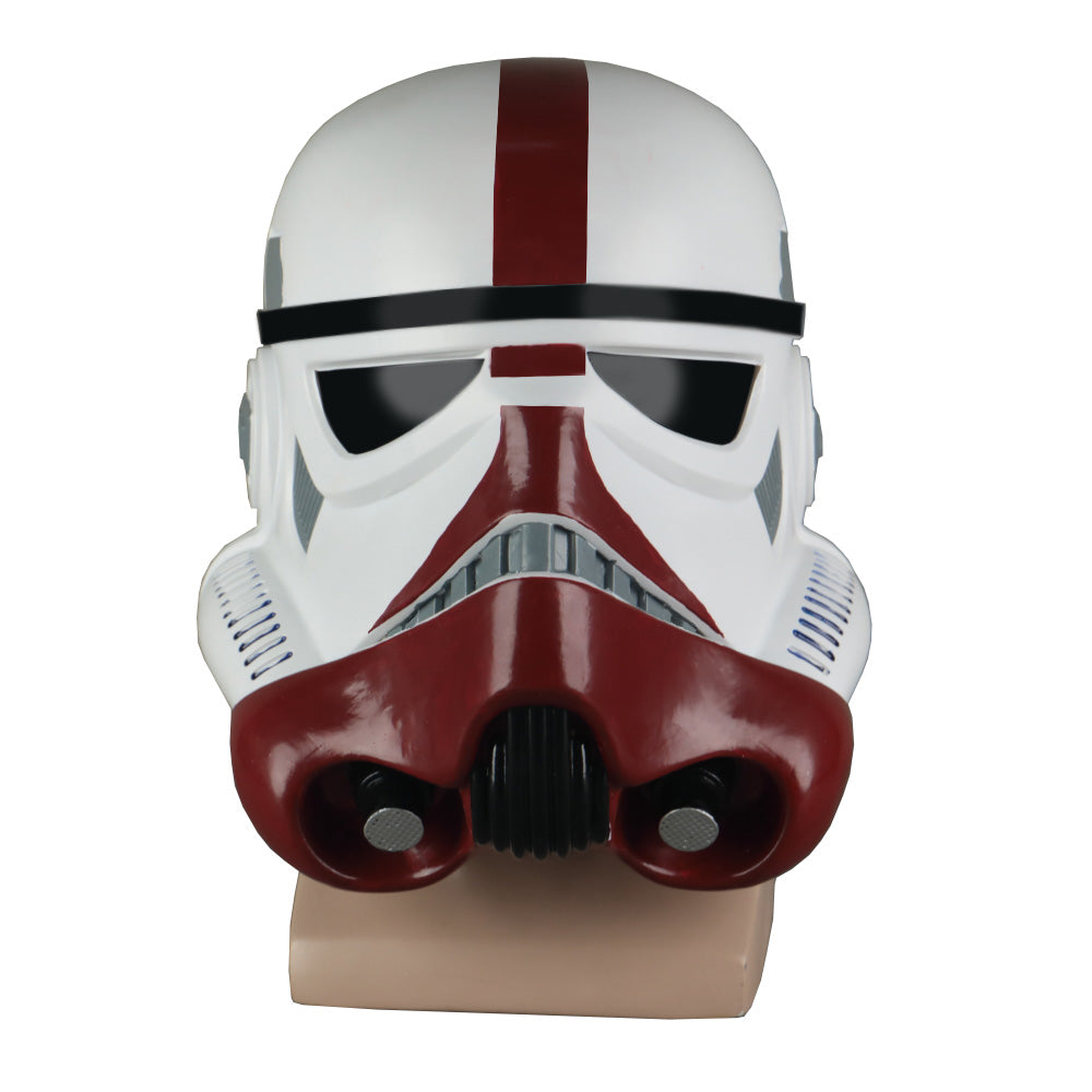 Cosplay Star Wars The Black Series Incinerator Stormtrooper Helmet PVC Mask Halloween Party Costume Prop