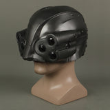 Cyberpunks 2077 LED Helmet Cosplay MAX-TAC the Psycho Squad Halloween Party Prop