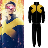 2019 Movie X-Men Dark Phoenix Jean Grey Cosplay Costume Jumpsuit Jacket Uniform Suit - bfjcosplayer