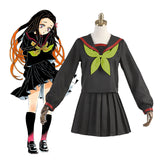 Demon Slayer Kamado Nezuko JK cosplay costume Halloween props