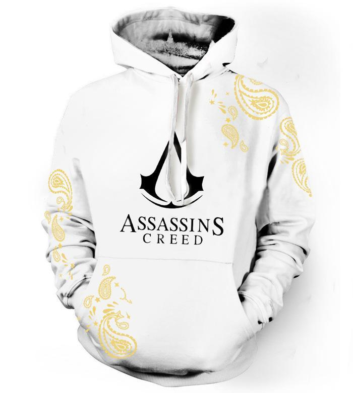 BFJmz Assassin's Creed Hooded Sweater 3D Printing Coat Leisure Sports Sweater Autumn And Winter - bfjcosplayer