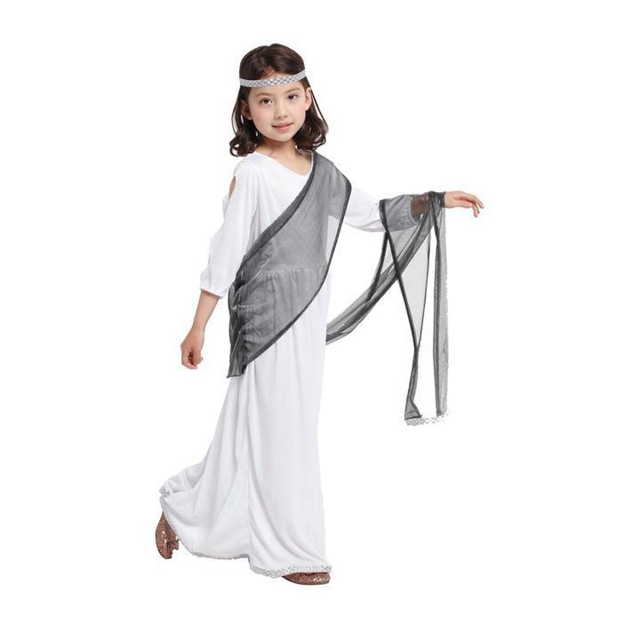 BFJFY Girls Roman Princess Halloween Costume Cosplay Fancy Party Dress - bfjcosplayer