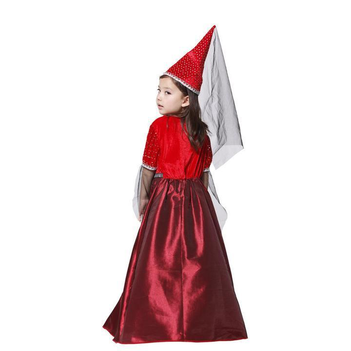 BFJFY Girls Medieval Princess Renaissance Juliet Halloween Costume - bfjcosplayer