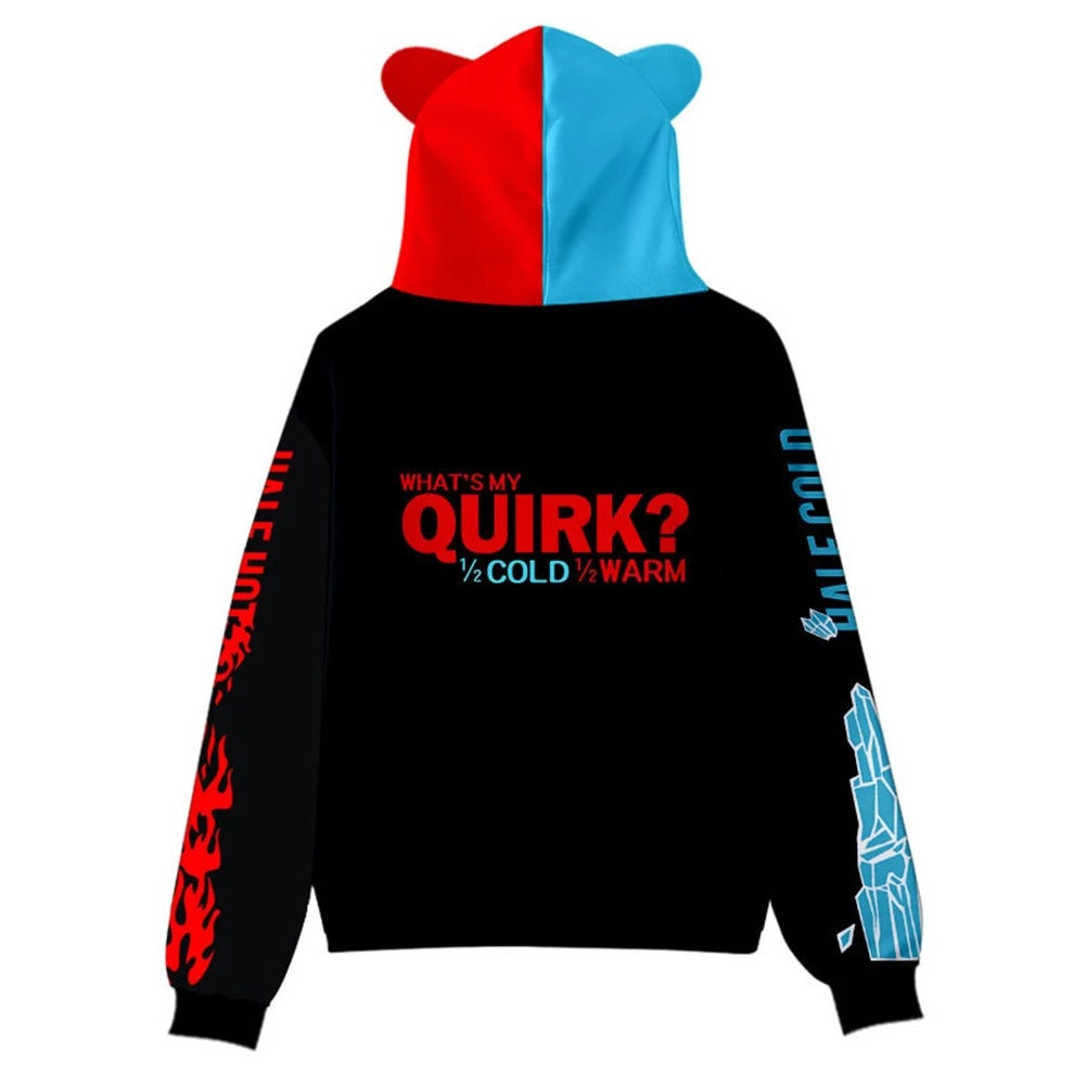 Fanrek My Hero Academia Todoroki Cosplay Sweater