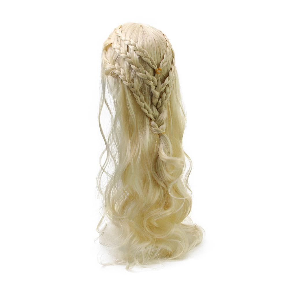 Song of Ice and Fire Game of Thrones Wig Cosplay Daenerys Targaryen Mother of Dragons - bfjcosplayer