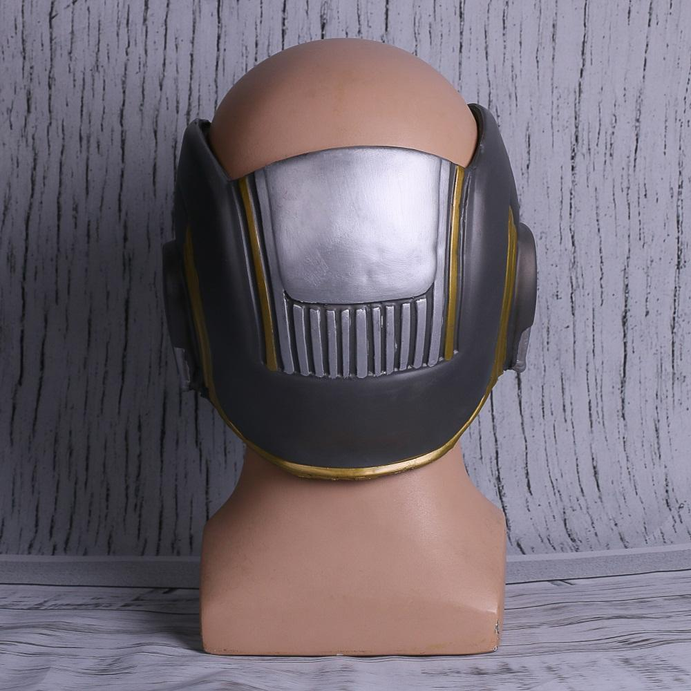 Avengers:Infinity War Star Lord LED Helmet Cosplay Guardians of the Galaxy Vol 2 Helmet LED Light Mask - bfjcosplayer