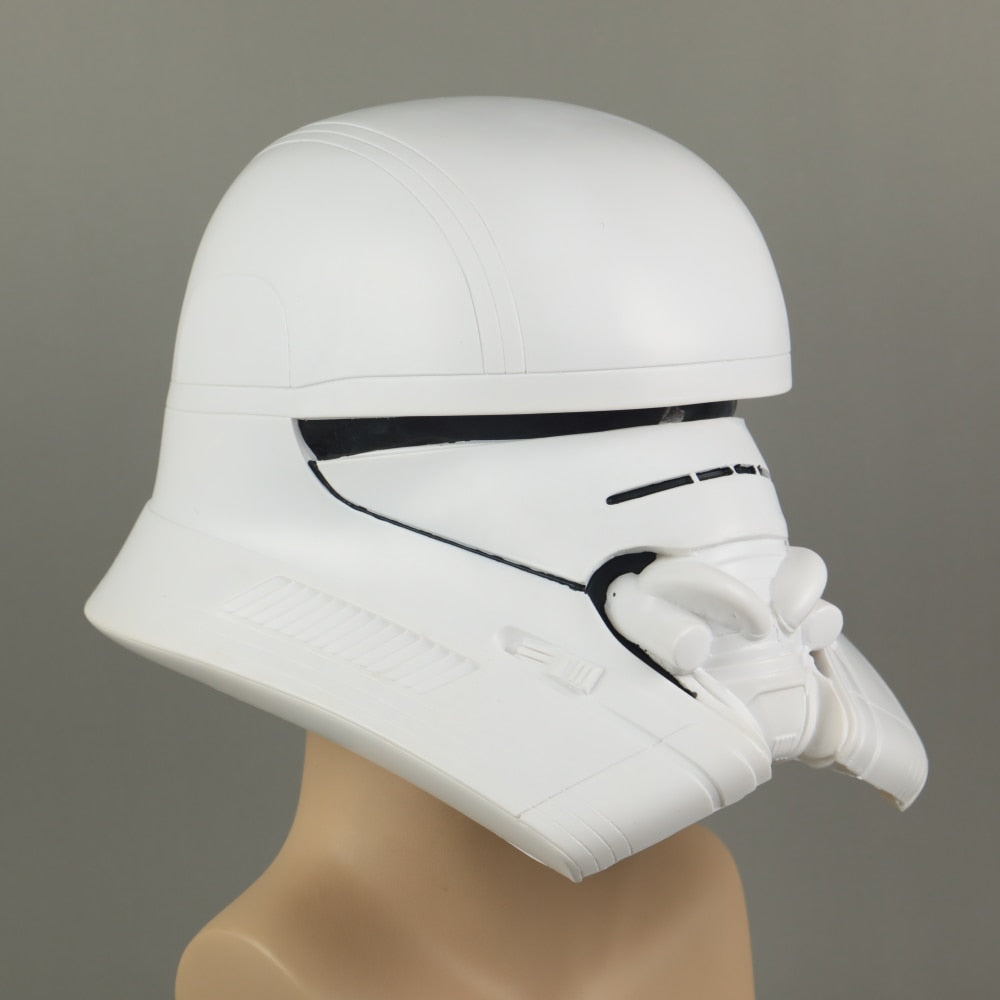 Star Wars The Rise of Skywalker Jet Trooper Helmet Cosplay Full Head  Helmet PVC Srar Wars Mask Prop