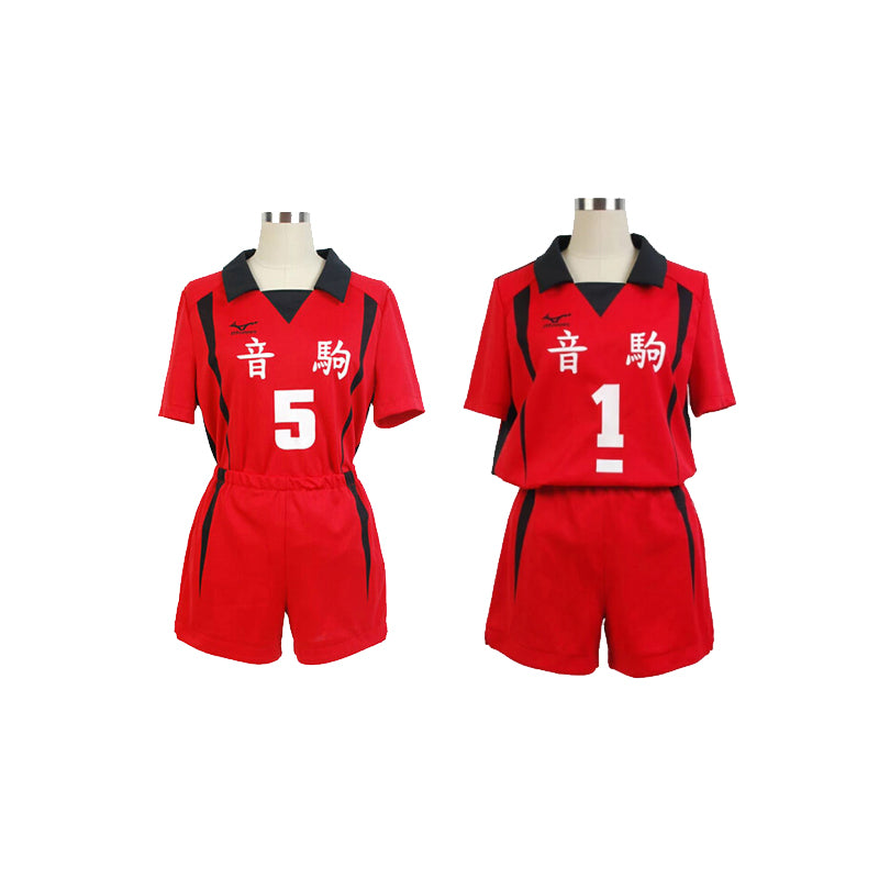 Haikyuu!! Anime Cosplay Costume Nekoma High School  Kenma Kozume Kuroo Tetsuro VolleyBall Uniform