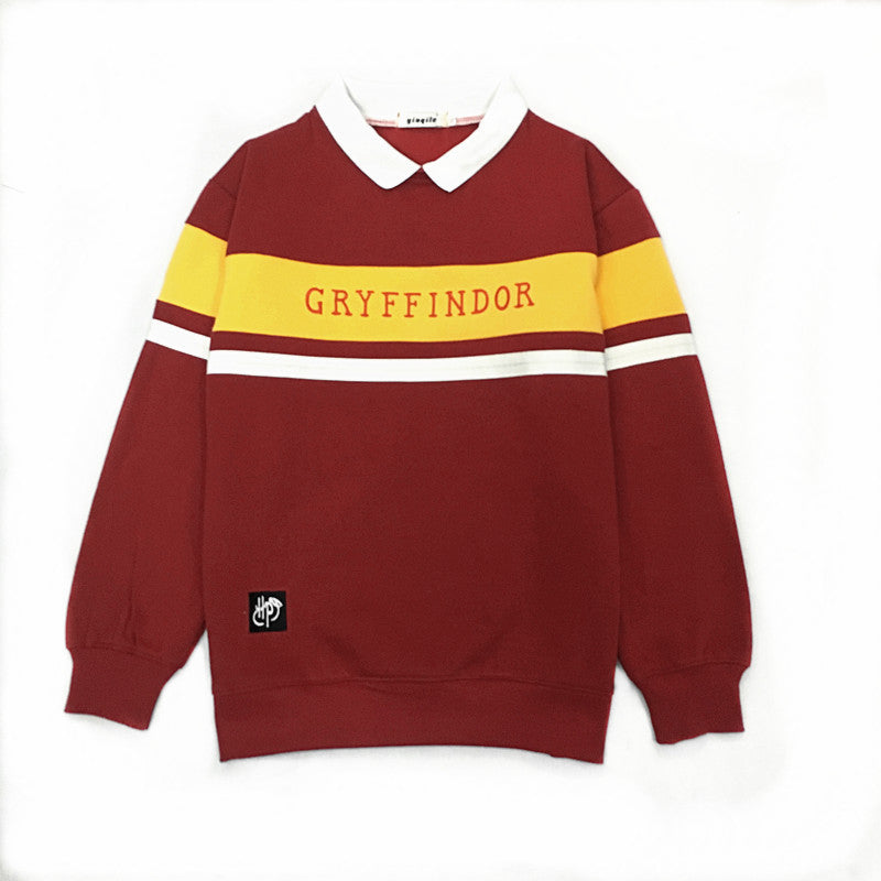 Harry Potter Four College Cosplay Sweater Halloween Costume