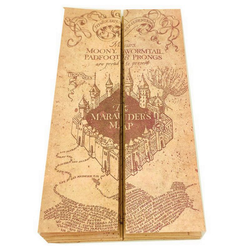 Harry Potter The Marauder's Map Poster vintage wallpaper Party Props