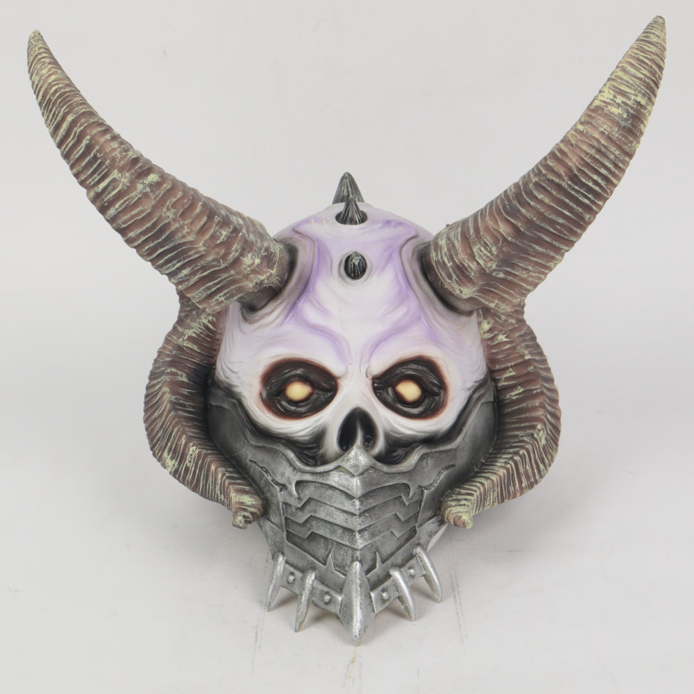 Hearthstone Aeon Reaver cosplay Latex Helmet Halloween prop
