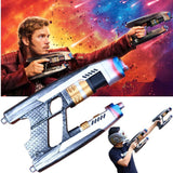 Marvel Cosplay Star Lord Resin Guns Weapon A Pair Handmade Blasters Guardians of the Galaxy Vol. 2 & Avengers:Infinity War - bfjcosplayer