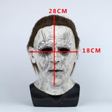 2018 Halloween Mask New Michael Myers Mask Scary Horror Halloween Party Mask Handmade - bfjcosplayer