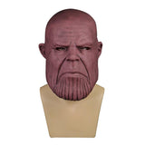 Avengers: Infinity War Cosplay Thanos Mask Full Head Soft PVC Costume Halloween Party - bfjcosplayer
