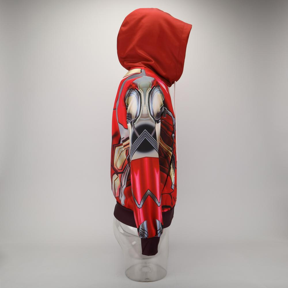 Avengers 4: endgame Iron Man Mark 85 Cosplay 3D Anime Hoodie - bfjcosplayer