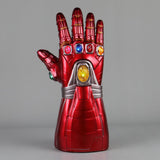 Avengers: Endgame Ironman Gauntlet Gloves Stone Movable Led Light Infinity War Glove Halloween props - bfjcosplayer