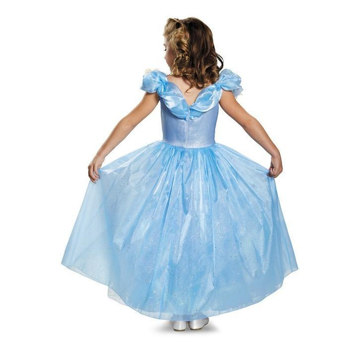 BFJFY Girls Cinderella Princess Prom Dress Outfit For Halloween Cosplay - bfjcosplayer