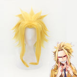 My Hero Academia All Might Wig Cosplay Costume Boku no Hero Academia Heat Resistant Synthetic Hair Party Role Play Wigs