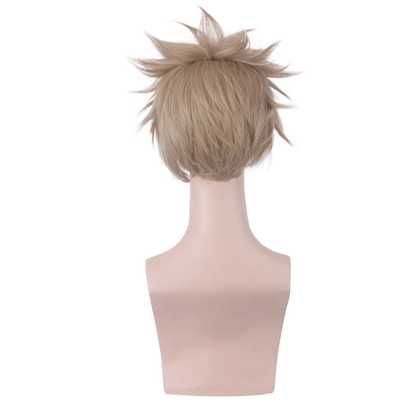 My Hero Academia No.2 Hero Hawkes Hawks Men Short Wig Cosplay Costume Boku no Hero Academia Synthetic Hair Carnival Party Wigs